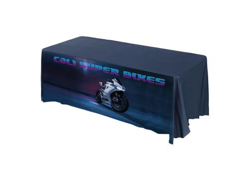 Cali Super Bike promotional tablecloth