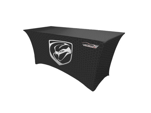 logo tablecloth stretch fit 6 foot table