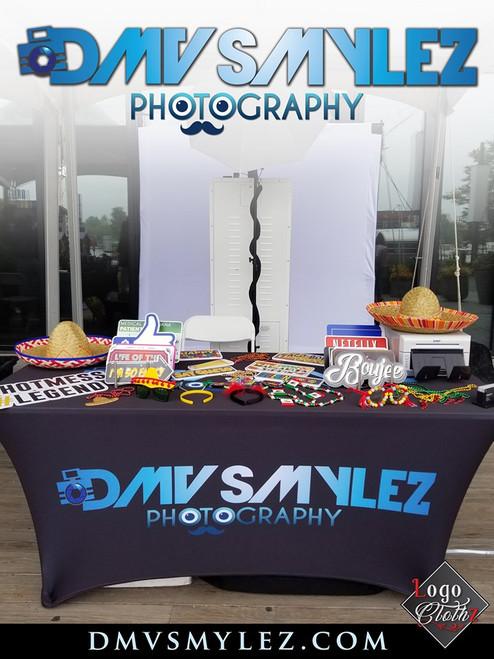 Logoclothz customer image trade show for DMV smylez