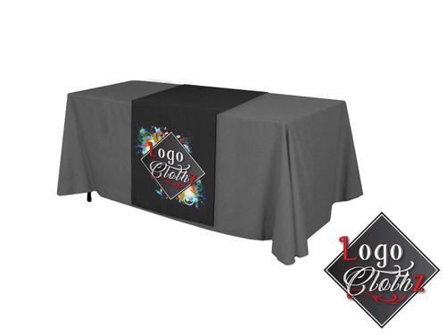 Printed Table Runner for Display Table