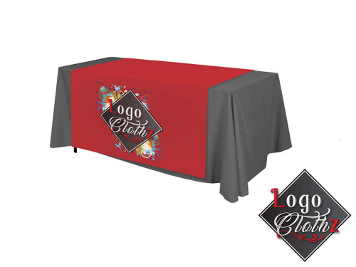 60 inch wide printed table runner