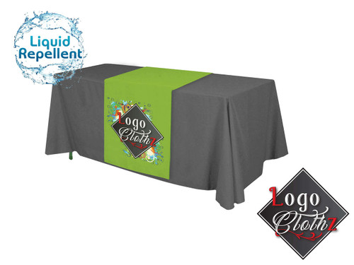 Liquid Repellent Table Runner with Logo