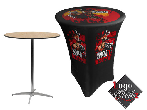 Video game themed custom table covers