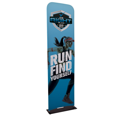 eurofit banner stand with full color imprint