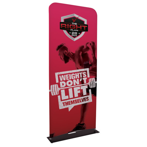 3 foot wide euro fit banner