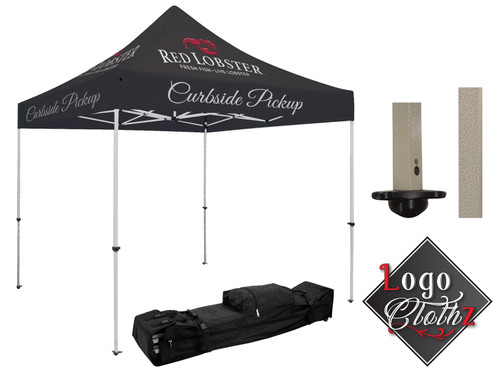 Branded POP Up Canopy - All Over Printed - Standard 10 X 10 All in One Kit - Full Dye Sublimated