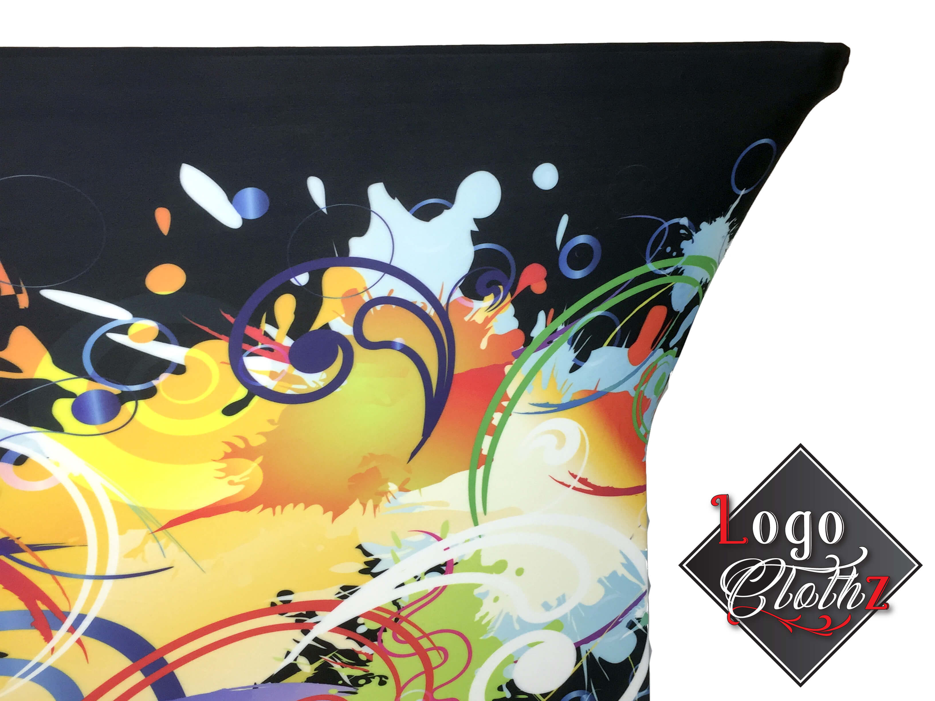 spandex full color print