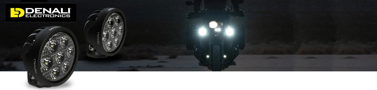 Denali Motorcycle Lights