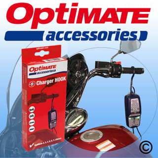 New Optimate Battery Charger Hanging Hook