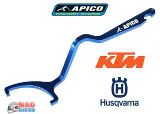 Apico Rear Shock C Spanner, Preload Adjuster Tool. Husky KTM 125 - 450 2016 2017