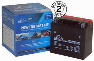 Yamaha XJR1300 High Power Leoch Battery 1999 to 04 Massive 200CCA Starting Power