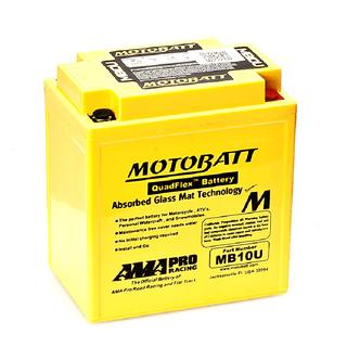 Motobatt MB10U Battery replacesYB10AA2,YB10LB,YB10LB2, 12N113A1, 12N113B