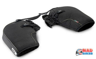 Givi TM418 Motorcycle Thermal Bar Muffs, Winter Handlebar Guard Covers