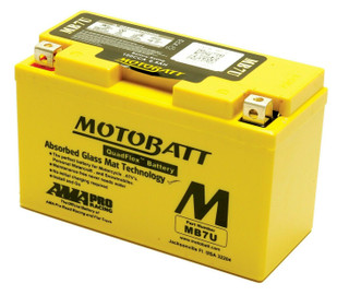 Motobatt MB7U AGM Motorcycle Battery