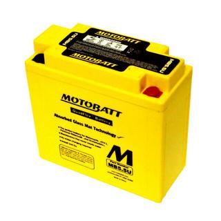 Motobatt MB5.5 Motorcycle Battery 12N5.5-3B, 12N5.5-4A
