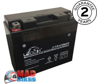Leoch YT7B-4 Motorcycle Battery