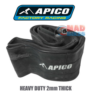 APICO Quality Heavy Duty Rear Inner Tube, Motocross & Enduro 350 / 400 x 19