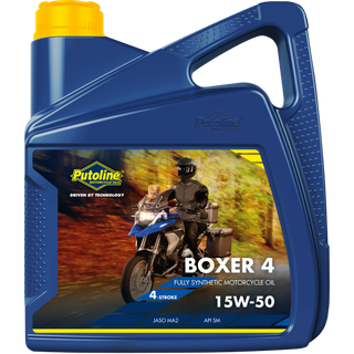Putoline Boxer 15/50 Engine oil, for BMW Air cooled Boxer engines 4 litres