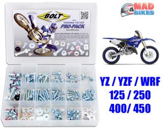 Bolt Pro Hardware Kit Yamaha, YZF WRF YZ 125 250 400 450, Nuts, Bolts, Clips Etc