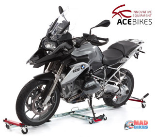 Acebikes U-Turn Motorcycle Motorbike Mover / Skate/ Dolly /Parking Aid On Wheels