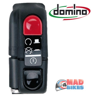 Domino Universal Start Stop Kill Switch ( Run On Off Switch) Track Day Race Bike