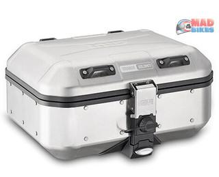 Givi DLM30A Dolomiti Aluminium Motorcycle Luggage Top Box / Pannier Case 30L