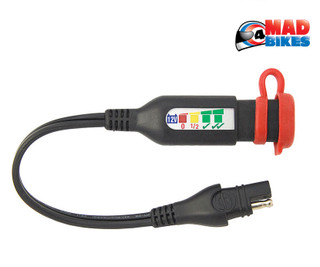 Optimate O-125 SAE Motorcycle Battery Status & Charge System Tester Lead