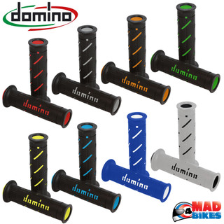 Domino A250 (XM2) Super Soft dual compound motorbike grips