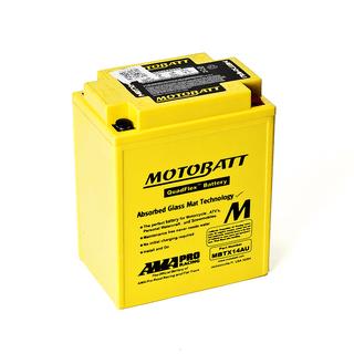 Motobatt MBTX14AU High power motorcycle battery