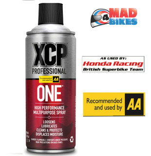 XCP ONE - High Performance Multi Purpose Spray 400ml Motorcycle, Car, Cycle