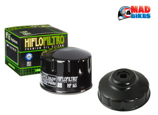 BMW F800S 06-10, F800ST 06-13 & Touring Hiflo Oil Filter & Removal Tool Wrench
