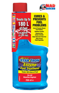 Star Tron Motorcycle Fuel Additive Enzyme Treatment