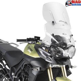 Givi AF6401 Adjustable Airflow Screen for Triumph Tiger 800XR / 800XC 2011 > On