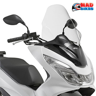 Honda PCX 125 2014 to 17 Givi Screen, Windscreen, Touring Wind Shield (D1136ST)