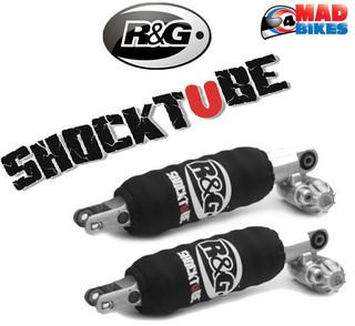 R&G Shocktube Front & Rear Shocktubes for the BMW R1200 GS 2004 to 2012