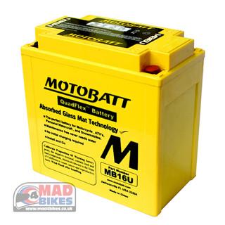 Motobatt MB16U High Performance Motorcycle Battery