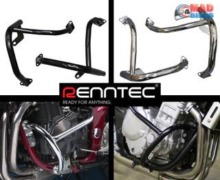 Renntec Black Engine Crash protection Bars Suzuki GSF1200 K1 - K5 Bandit