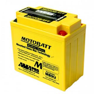 Motobatt MB9U AGM Motorcycle Battery