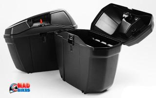 Kappa K22N (E22N) Monokey Motorcycle Pannier Luggage Cases (A Pair )