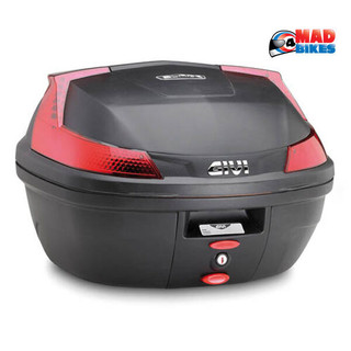 Givi B37 Motorcycle Scooter 37L Top Box & Universal mounting, UK Seller in stock