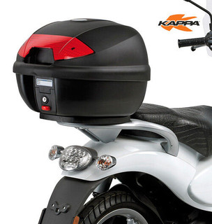 Kappa K30N Motorcycle / Scooter Top Box Monolock & Universal Mounting plate