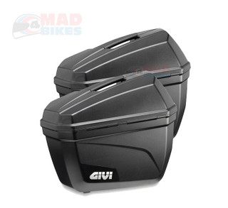 New Givi E22N Monokey Motorcycle Motorbike Panniers Luggage Cases ( A Pair )