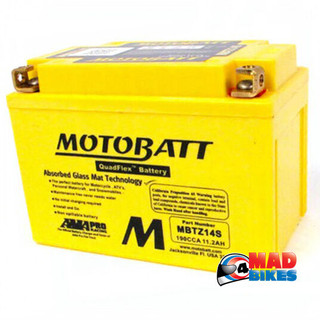 Motobatt MBTZ14S Motorcycle battery
