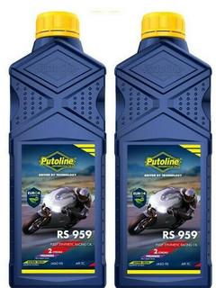 Putoline RS959 TTX Ultimate 2 Stroke Oil 100% Synthetic Motorcycle Motocross 2LT