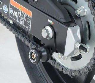R&G Cotton Reel Paddock Stand Bobbins,  Honda CBR500R, CB500F, CB500X, CB500 F