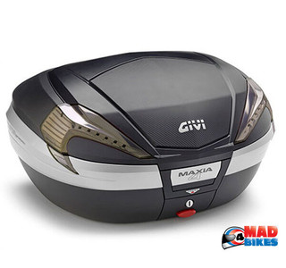 Givi V56NNT Maxia 4 Motorcycle Top Box Luggage Case.56L  Official UK Seller