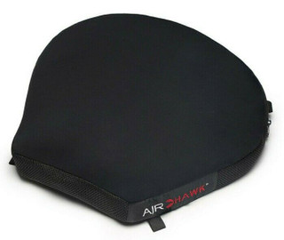 "AIRHAWK Motorcycle Comfort Air Seat Cushion Touring & Cruiser Medium 14"" X 14"