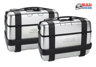 Givi TRK33N, TRK46N Monokey Aluminium Adventure Motorcycle pannier Side Case Set