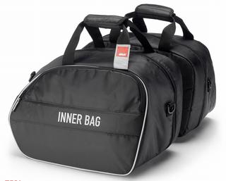 GIVI V35 / V37 Inner Bags T443C Pair of Soft Internal Carry Cases In Black New