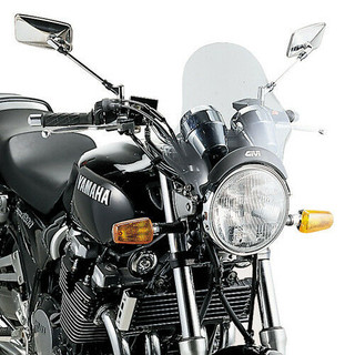 GIVI A200 UNIVERSAL MOTORCYCLE  FLY SCREEN SMOKED TINT